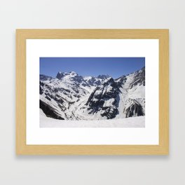 Valley of Arenas Framed Art Print