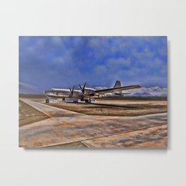 World War II B-29 Bomber Metal Print
