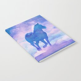 Horses run Notebook
