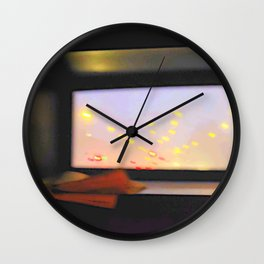 double-decker window Wall Clock