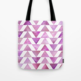 Rose Triangles Tote Bag