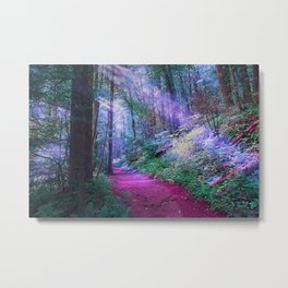 Mystical Woods Metal Print