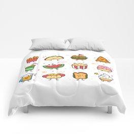 Food Doodle Comforters