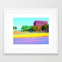 dallas Framed Art Prints featuring Dallas by KendraLock