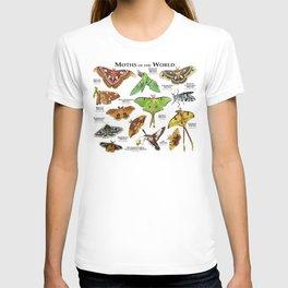 Moths of the World T-shirt