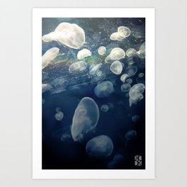 Jellyfish2 Art Print