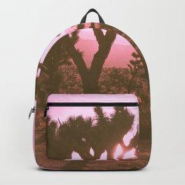 Rosy Haze In Joshua Tree Backpack