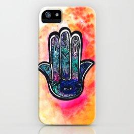 Hand of Hamsa iPhone Case