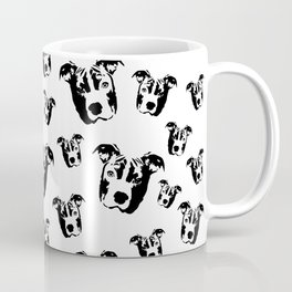 CHRISTMAS GIFTS FOR THE PIT BULL DOG LOVER FROM MONOFACES  Coffee Mug