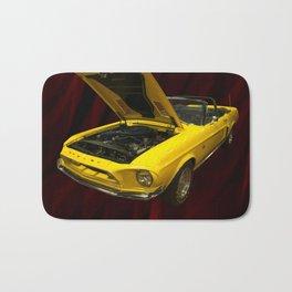1968 Shelby gt 500kr Bath Mat