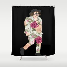 floral harry Shower Curtain