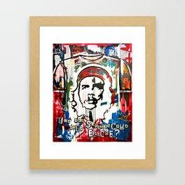 Che Guevara: US HEROES SERIES Framed Art Print