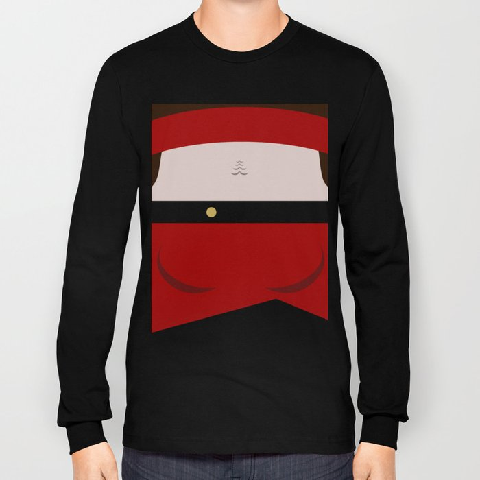 Ensign Ro Laren - Minimalist Star Trek TNG The Next Generation - trektangle - Bajoran Long Sleeve T-shirt