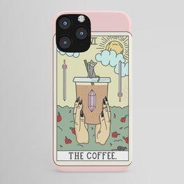COFFEE READING iPhone Case
