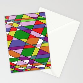 Stain Glass Mosaic Pattern Stationery Cards