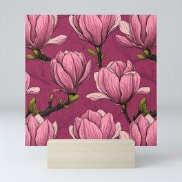 Magnolia garden Mini Art Print
