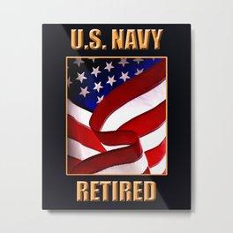 U.S. Navy Metal Print