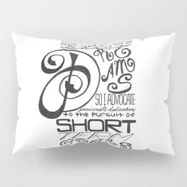 Short Term Goals Pillow Sham