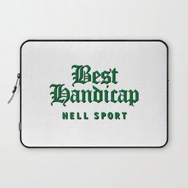 Best Handicap - Hell Sport - Green Laptop Sleeve