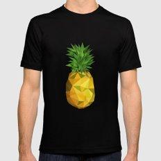 Pineapple Mens Fitted Tee MEDIUM Black