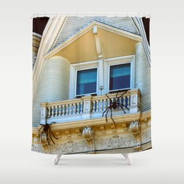 No Sun Chairs Here Either, Pete Shower Curtain
