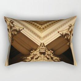Architecture Aglow Rectangular Pillow