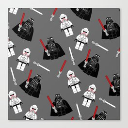 Darth-Gray Canvas Print