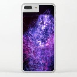 Electric Spirit Clear iPhone Case