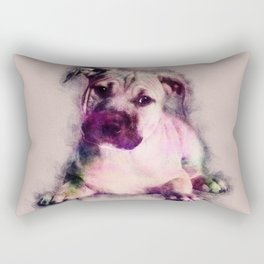 American Staffordshire Terrier - Amstaff Puppy Rectangular Pillow