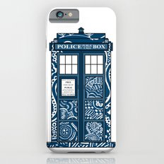 Tardis Blue Slim Case iPhone 6s