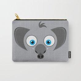 Cartoon Elephant Carry-All Pouch