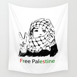 Freedom for Palestine Wall Tapestry