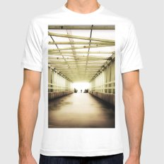 Almost There Mens Fitted Tee White MEDIUM