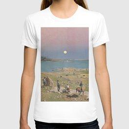 Pink sky T-shirt