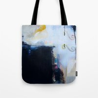 brand new Tote Bags featuring Brand New Day by Natalie Baca