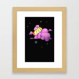 After halloween Framed Art Print