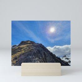 Avalanche Peak Mini Art Print