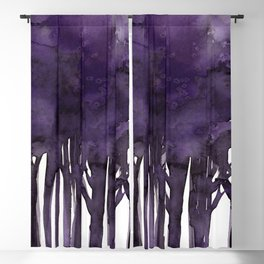 Tree Impressions No.1H by Kathy Morton Stanion Blackout Curtain