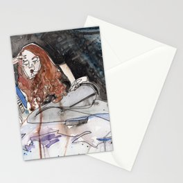 Sadist in Stockings Stationery Cards