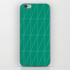 Emerald Triangles by Friztin iPhone & iPod Skin
