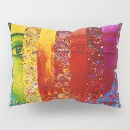 Conundrum I - Abstract Rainbow Goddess Pillow Sham