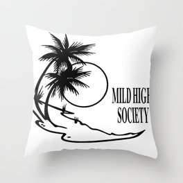 mild high society classic Throw Pillow