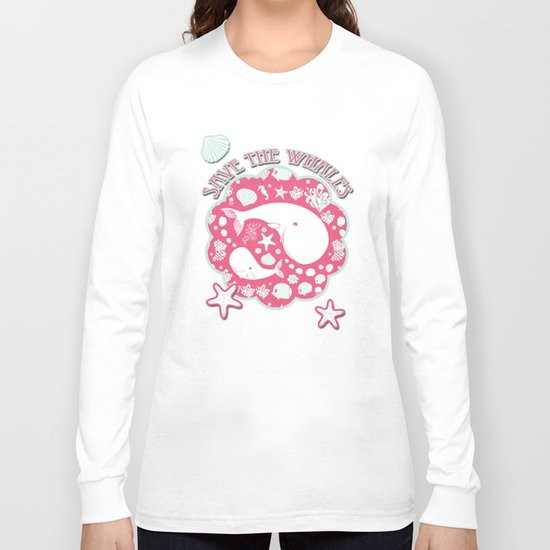 The Whales dance Long Sleeve T-shirt