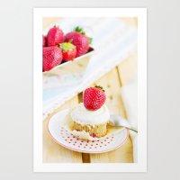 dessert Art Prints featuring DESSERT by Ylenia Pizzetti