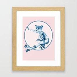 Menagerie Fox Framed Art Print