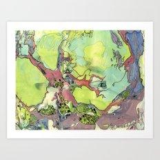 #33 Tree Hive Art Print