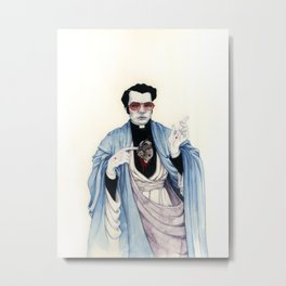 Reverend Jones Metal Print
