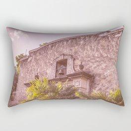 Palm Tree Summer - The Alamo Rectangular Pillow