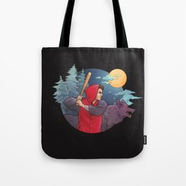 Night Run Tote Bag