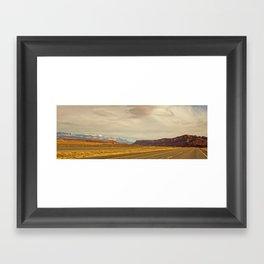 Open Road- Utah Framed Art Print